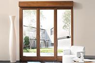 Porte-fenêtre PVC volet intégré