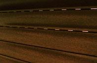 Tablier en aluminium noisette