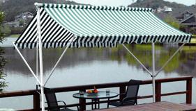Comment bien choisir son store ext rieur sur mesure conseils stores dis - Store parasol double pente ...