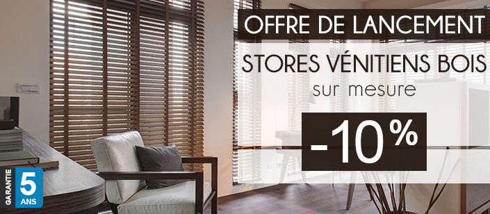 store venitien bois sur mesure store v nitien bois sur. Black Bedroom Furniture Sets. Home Design Ideas