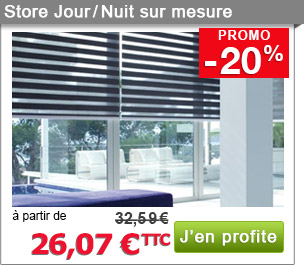 6 promo stores discount store jour nuit sur mesure. Black Bedroom Furniture Sets. Home Design Ideas