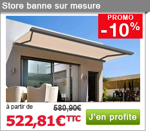 promo store banne gallery of store banne coffre select with promo store banne store banne in. Black Bedroom Furniture Sets. Home Design Ideas