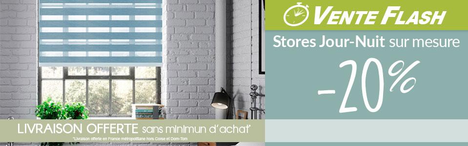 store jour nuit sur mesure pas cher store jour nuit sur mesure sans coffre pour largeurs uc cm. Black Bedroom Furniture Sets. Home Design Ideas