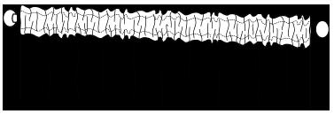 froncée ruflette de rideaux