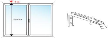 Store californien sur mesure 89 ou 127 mm stores - Hauteur minimum plafond ...