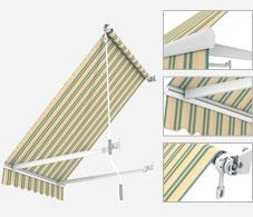 store projection store ext rieur sur mesure stores. Black Bedroom Furniture Sets. Home Design Ideas