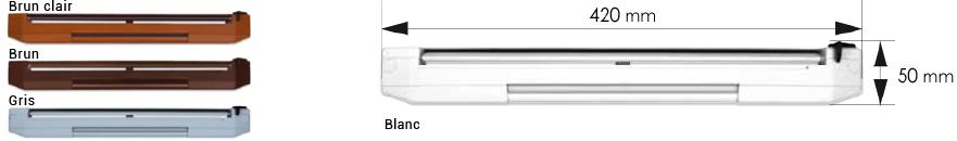 Ventilation phonique pour baie-vitrée