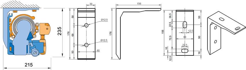 store banne demi coffre sur mesure stores. Black Bedroom Furniture Sets. Home Design Ideas