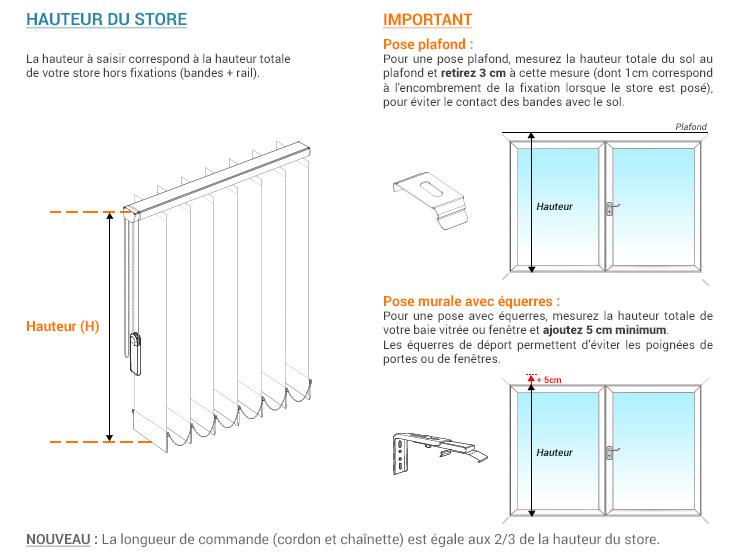 plaques de lestage pour lamelles verticales 127 mm. Black Bedroom Furniture Sets. Home Design Ideas
