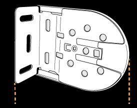 fixation standard de store enrouleur motorisé