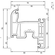 Descriptif gamme fen tre portes fen tres baie vitr for Dimension encadrement porte