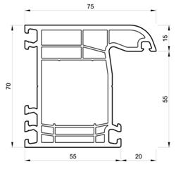 descriptif gamme fen tre portes fen tres baie vitr es pvc sur mesure. Black Bedroom Furniture Sets. Home Design Ideas