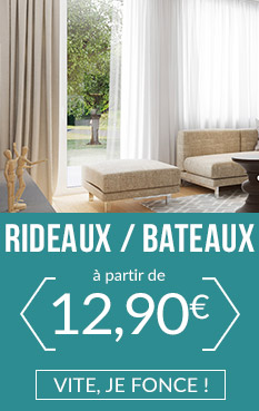 rideaux bateaux sur mesure stores. Black Bedroom Furniture Sets. Home Design Ideas