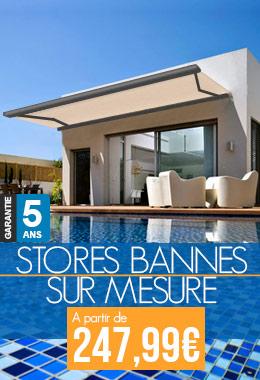 Avec stores discount b n ficiez d 39 un prix usine d 39 une for Store exterieur sur mesure