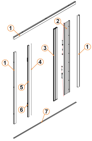 moustiquaire pliss e moustiquaire porte fen tre et baie vitr e. Black Bedroom Furniture Sets. Home Design Ideas