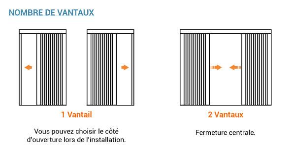 Moustiquaire pliss e moustiquaire porte fen tre et baie for Moustiquaire coulissante pour porte fenetre