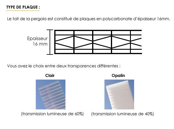 Type de plaque