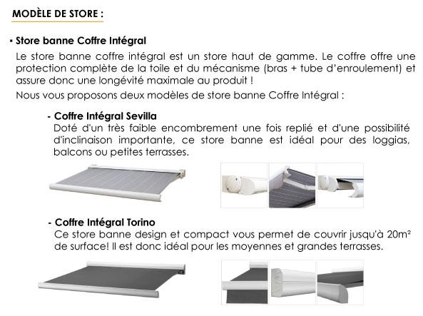 ᐅ Store Banne Coffre Intégral Stores Discount Com