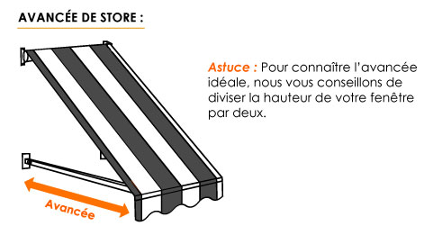 ᐅ Store Projection Sur Mesure Store Balcon Stores Discountcom