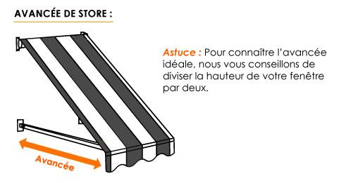 ᐅ Store Projection Sur Mesure Store Balcon Stores Discountcom