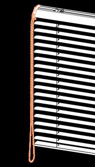 commande monocommande pour store vénitien aluminium