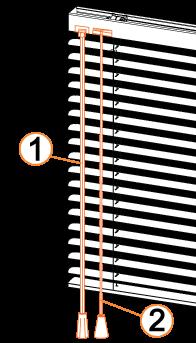 commande classique de store vénitien aluminium