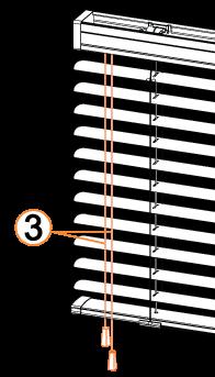 commande classique pour store vénitien aluminium