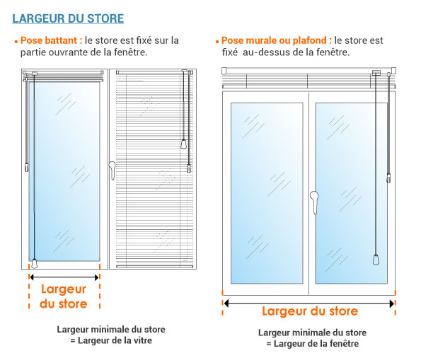 ᐅ Store Vénitien Aluminium Sur Mesure Stores Discount